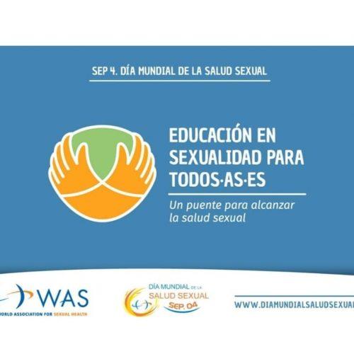 Celebremos hoy 4 de septiembre el Día Mundial de la Salud Sexual
